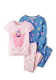 Carter's 4-Piece Snug Fit Glow-In-The-Dark Cotton Pajamas