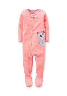 Carter's 1-Piece Snug Fit Neon Cotton Pajamas