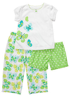 Carter's 3-Piece Butterfly Pajama Set