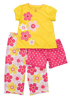 Carter's 3-Piece Floral Print PJ Set