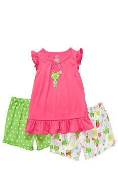 Carter's 3-Piece Frog Pajama Set