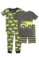 Carter's® 4-Piece Construction PJ Set Toddler Boys