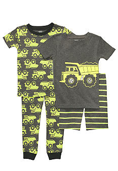 Carter's 4-Piece Construction PJ Set Toddler Boys
