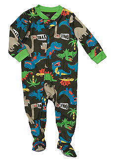 Carter's Dinosaur Print Footed Pajama Toddler Boys