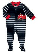 Carter's® Firetruck Footed Pajama Toddler Boys