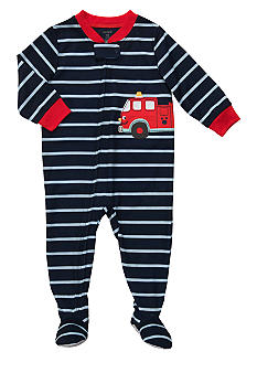 Carter's Firetruck Footed Pajama Toddler Boys