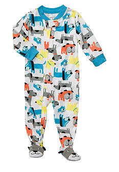 Carter's Dog Print Footed Pajama Toddler Boys
