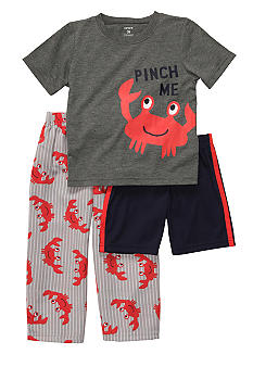 Carter's 3-Piece Crab Pajama Set Toddler Boys