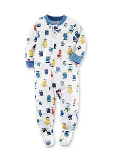 Carter's Monster Pattern Footed Pajamas Toddler Boys
