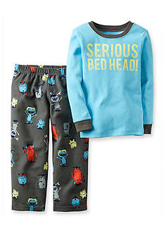 Carter's 2-Piece Cotton & Fleece Pajamas Toddler Boys