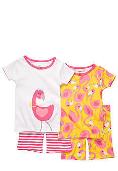 Carter's 4-Piece Flamingo Pajama Set Toddler Girls