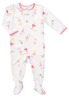Carter's Ballerina Footed Pajama Toddler Girls