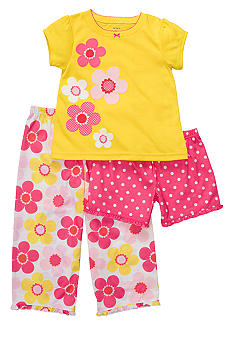Carter's 3-Piece Floral PJ Set Toddler Girls