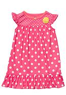 Carter's® Polka Dot Nightgown Toddler Girls