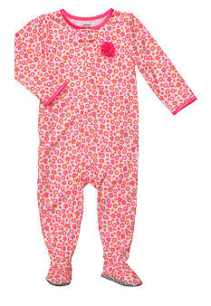Carter's Floral Printed Footed Pajama Toddler Girls