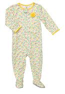 Carter's® Polka-Dot Footed Pajama Toddler Girls