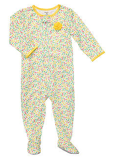 Carter's Polka-Dot Footed Pajama Toddler Girls