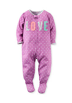 Carter's Snug Fit Footed Pajamas Toddler Girls