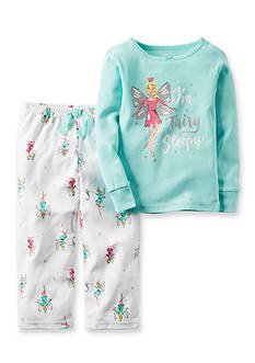 Carter's 2-Piece Cotton & Microfleece Pajamas Toddler Girls