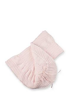 Feltman Brothers Pointelle Stitch Shawl Blanket