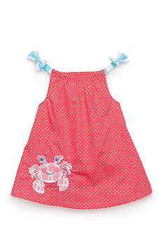 Nursery Rhyme 2-Piece Crab Dress and Bloomer Set