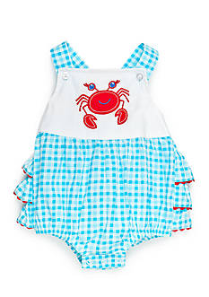 Nursery Rhyme Ruffle Bottom Crab Sunsuit