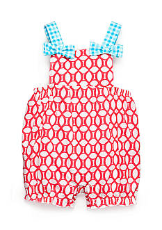Nursery Rhyme Lattice Sunsuit