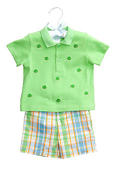 Nursery Rhyme® Turtle Polo Set