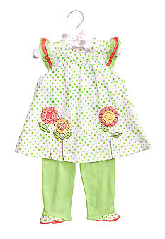 Nursery Rhyme 2-Piece Floral Tunic & Legging Set