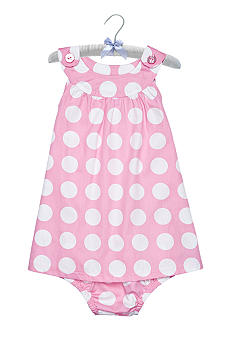 Nursery Rhyme Pink Dot Dress Set