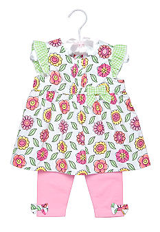 Nursery Rhyme® Floral Tunic Set