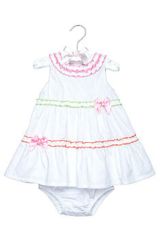 Nursery Rhyme® White Eyelet Dress