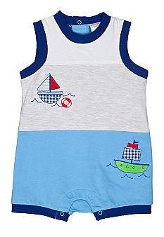 Nursery Rhyme Boat Sunsuit