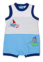 Nursery Rhyme® Boat Sunsuit