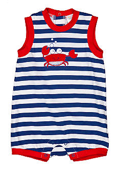 Nursery Rhyme Crab Sunsuit
