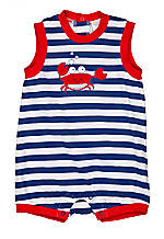 Nursery Rhyme® Crab Sunsuit