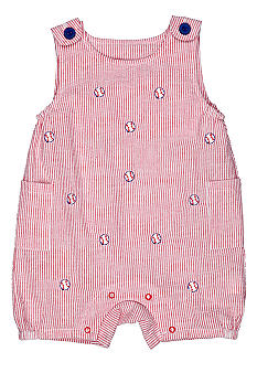 Nursery Rhyme Baseball Sunsuit