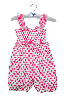 Nursery Rhyme Polka Dot Romper