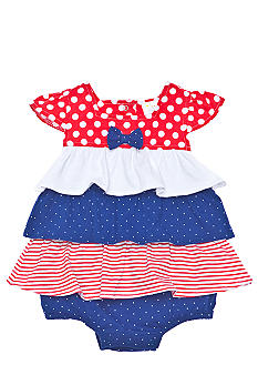 Nursery Rhyme Ruffled Sunsuit