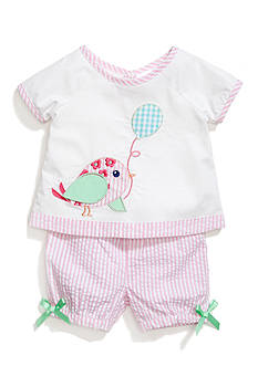 Nursery Rhyme® 2-Piece Novelty Woven Top and Shorts Set