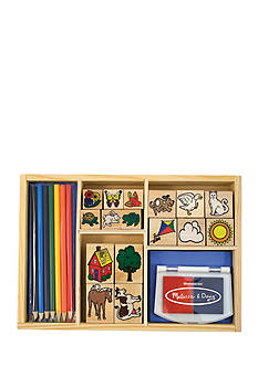 Melissa & Doug Deluxe Stamp Set - Online Only