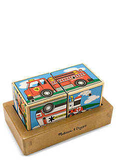 Melissa & Doug Wooden Vehicle Sand Blocks