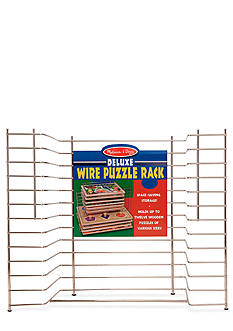 Melissa & Doug Deluxe Wire Puzzle Rack - Online Only