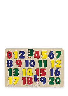 Melissa & Doug Numbers 0-20 Puzzle