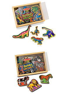 Melissa & Doug Magnetic Animals & Dinosaurs Bundle - Online Only