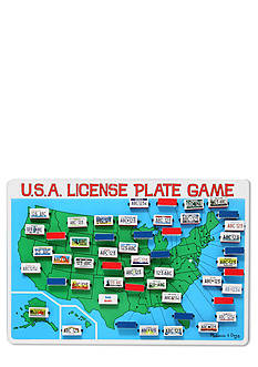 Melissa & Doug U.S.A. License Plate Game - Online Only