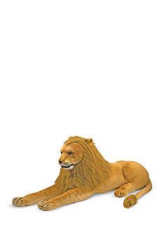 Melissa & Doug Plush Lion - Online Only