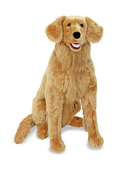 Melissa & Doug Plush Golden Retriever - Online Only
