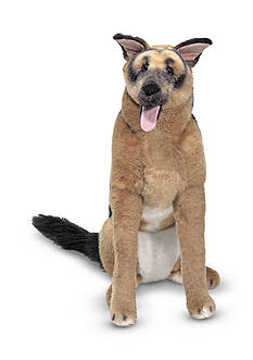 Melissa & Doug Plush German Shepherd - Online Only