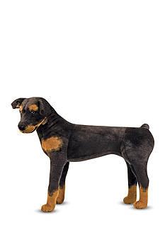 Melissa & Doug Plush Rottweiler - Online Only